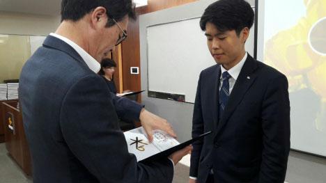 KB손해보험 청주 동부지점 영업가족 곽용민 부자