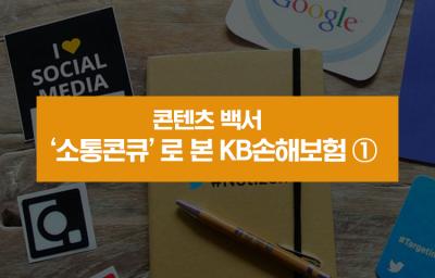 '소통콘큐'로 본 KB손해보험 ①