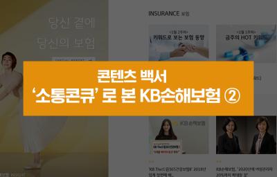 '소통콘큐'로 본 KB손해보험 ②