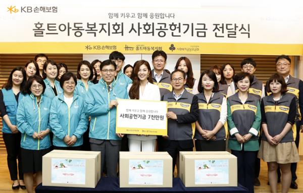 미혼모 영유아들의 건강한 성장을 응원하다